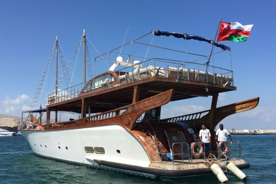 Rubba Cruise, Luxusyacht, Oman Rundreise
