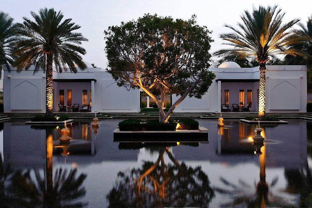 Private Balkone, The Chedi Muscat, Oman Rundreise