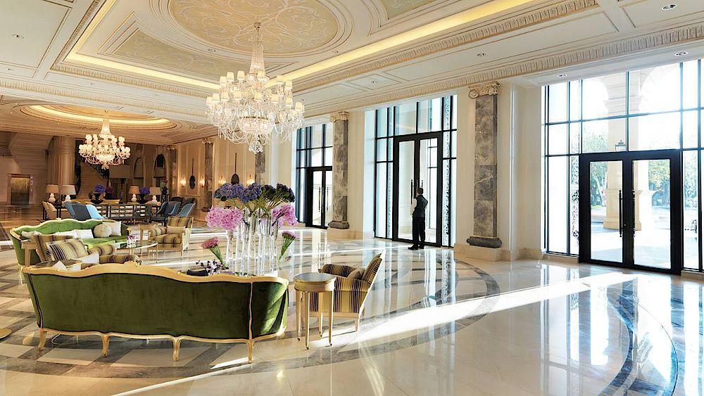 Foyer, Four Seasons Hotel Baku, Aserbaidschan Rundreise